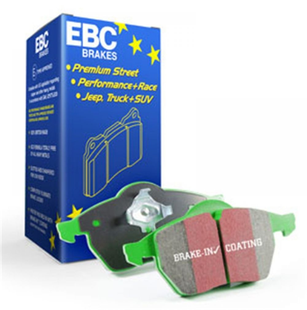 EBC Greenstuff Brake Pad Sets DP63021
